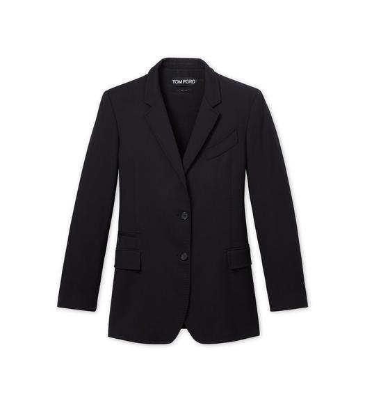SPLITTABLE DOUBLE WOOL CABAN JACKET