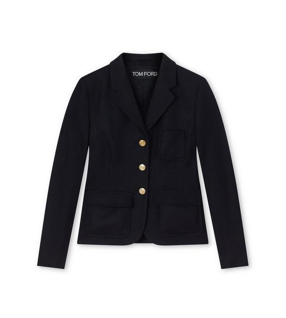 TAILORING CASHMERE 'THE BLAZER' JACKET A fullsize