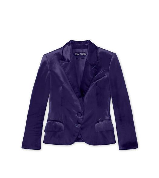 "VISCOSE VELVET ""NEW OLYMPIA"" JACKET"