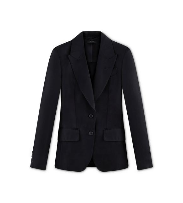 HEAVY TWILL DECONSTRUCTED JACKET A fullsize