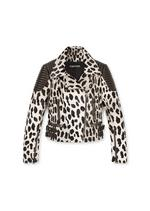 PANTHER PRINTED BIKER JACKET A thumbnail