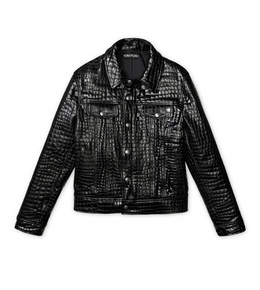 3005269958 EMBOSSED LEATHER WESTERN JACKET