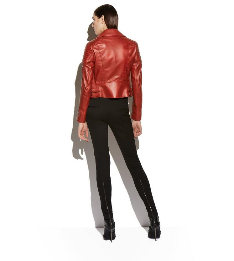 CLASSIC FITTED LEATHER BIKER JACKET C fullsize