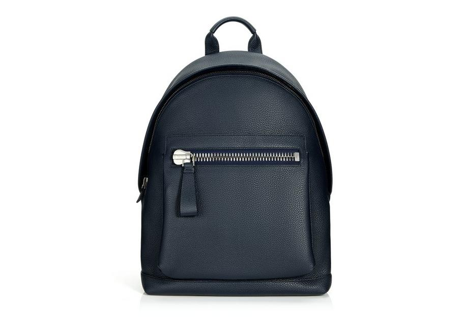 BUCKLEY GRAINED LEATHER BACKPACK A fullsize