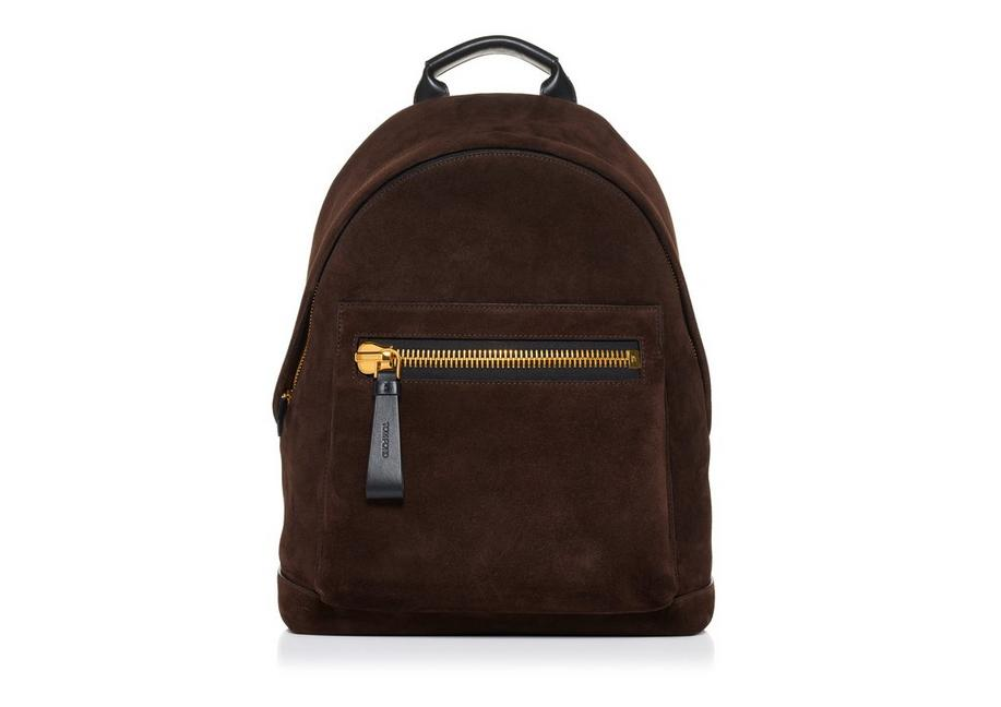 SUEDE BUCKLEY BACKPACK A fullsize