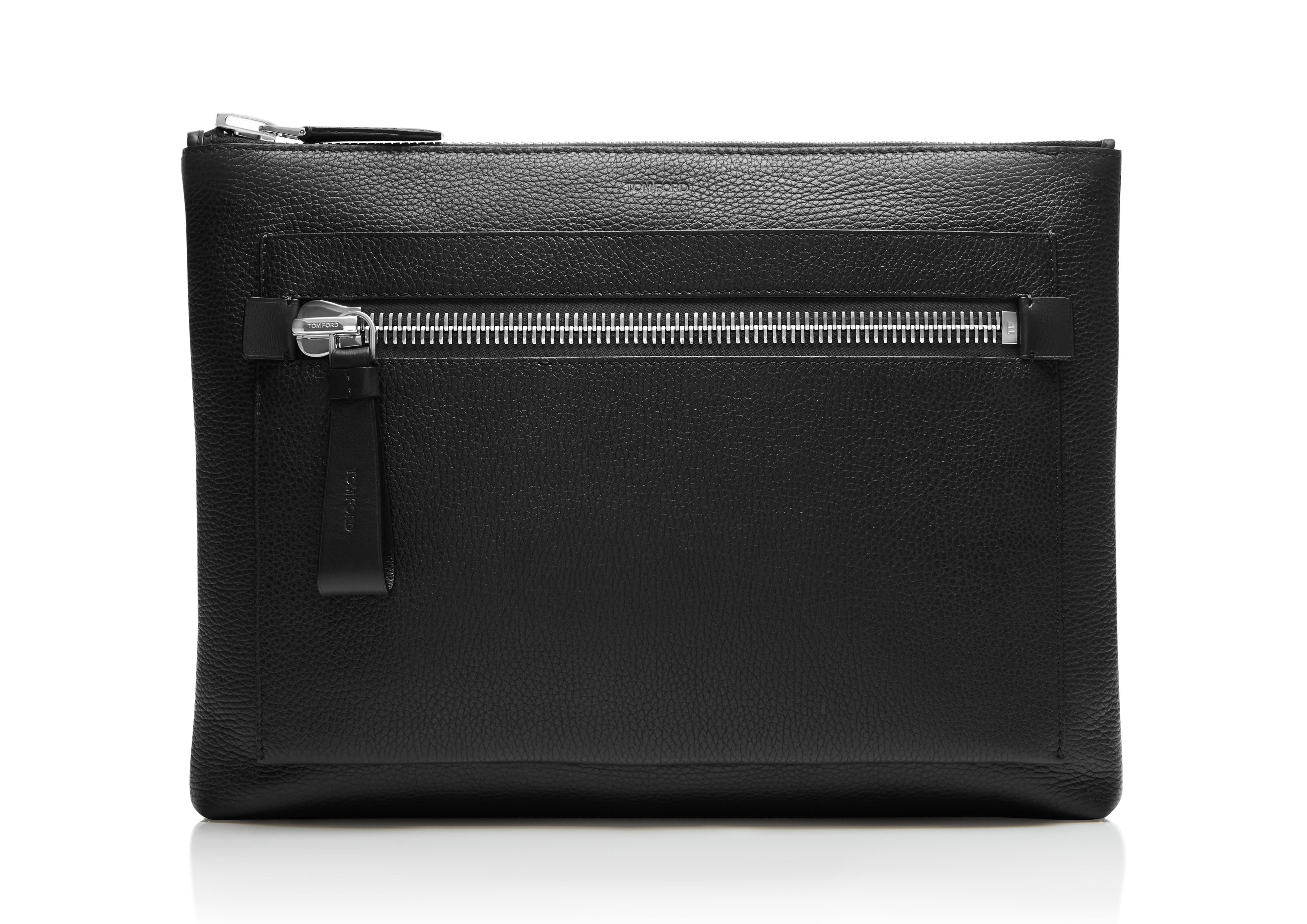 FLAT FRONT ZIP BRIEFCASE A thumbnail