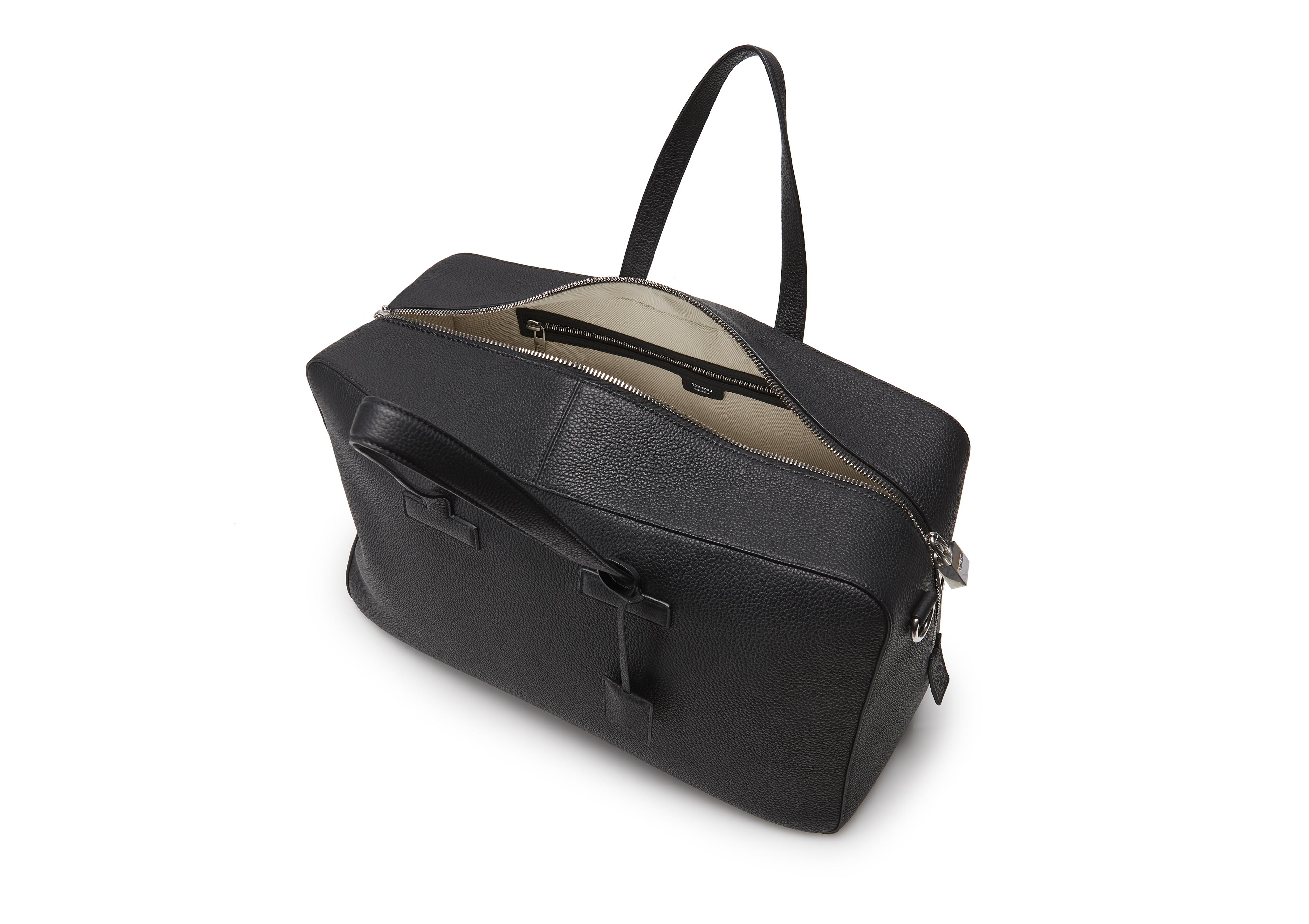 T LINE GRAINED LEATHER WEEKENDER D thumbnail