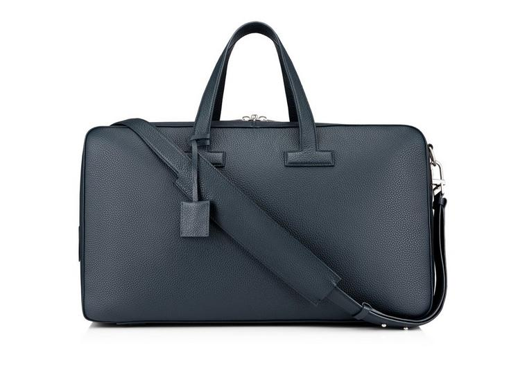 T LINE GRAINED LEATHER WEEKENDER A fullsize