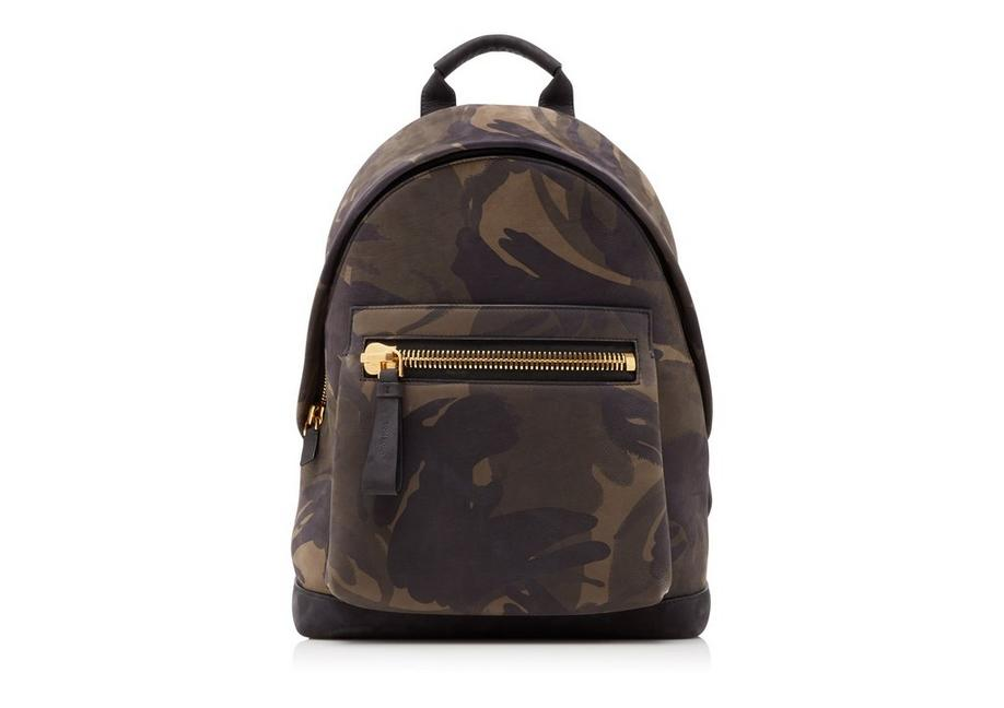 CAMOUFLAGE MEDIUM BUCKLEY BACKPACK A fullsize