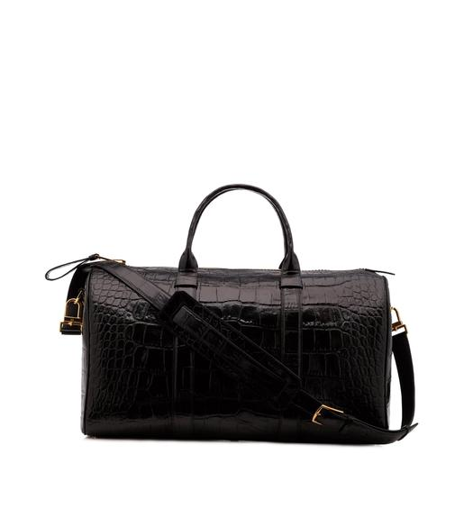 MEDIUM ALLIGATOR BUCKLEY DUFFLE