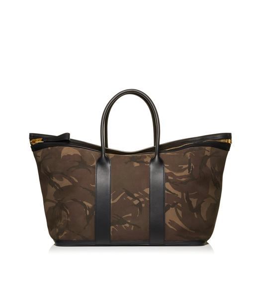CAMOUFLAGE BUCKLEY TOTE