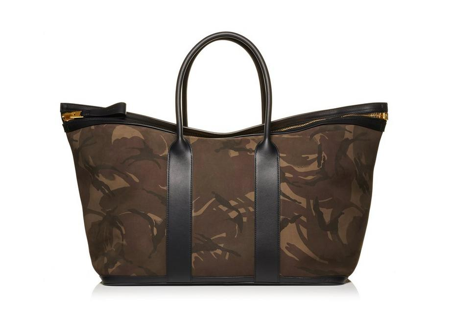 CAMOUFLAGE BUCKLEY TOTE A fullsize