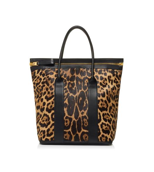 04f9e743f6fd LEOPARD NORTH BUCKLEY TOTE