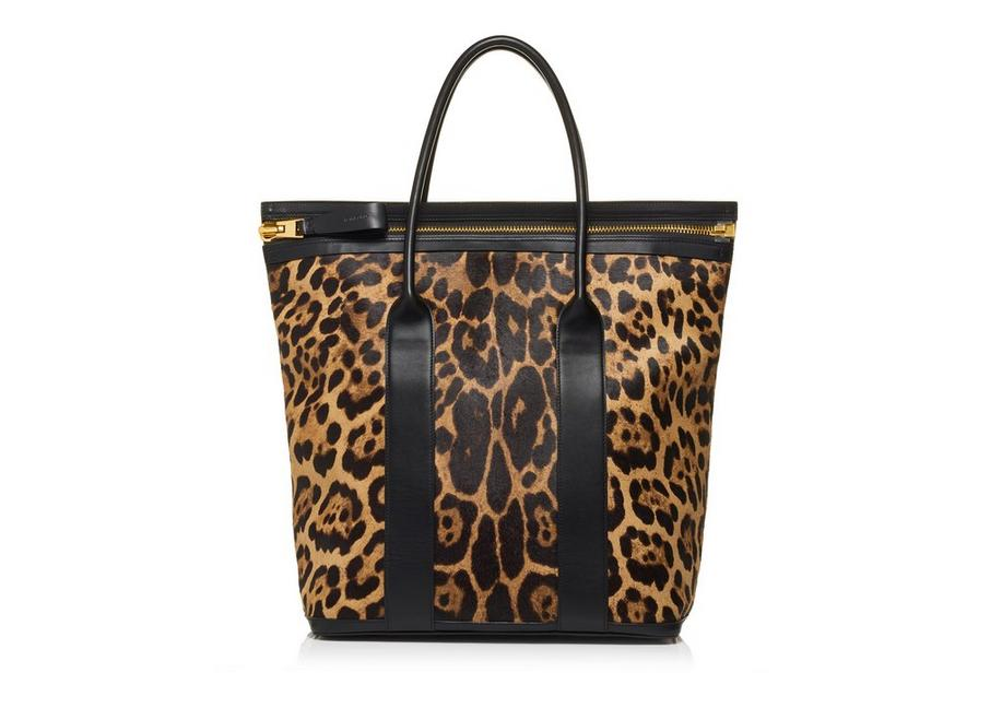 LEOPARD NORTH BUCKLEY TOTE A fullsize