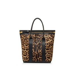 1335209076 LEOPARD NORTH BUCKLEY TOTE