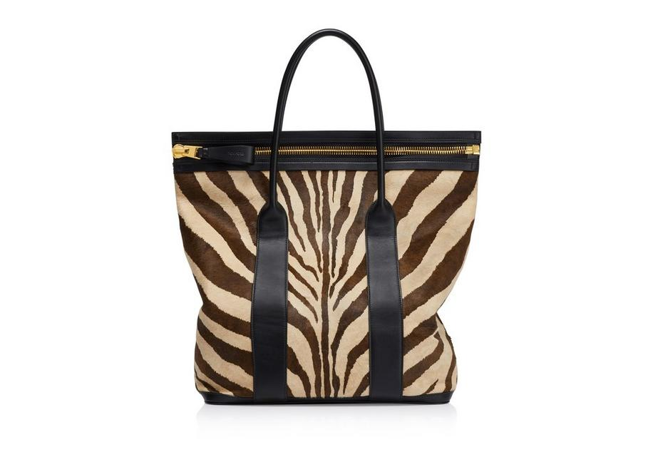 ZEBRA NORTH BUCKLEY TOTE A fullsize