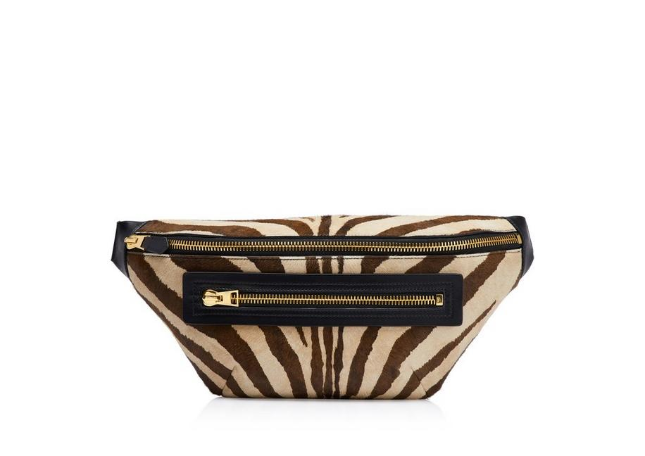 ZEBRA BUCKLEY BELT BAG A fullsize