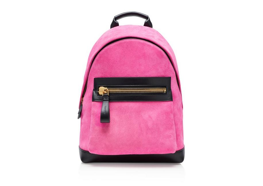 SUEDE LARGE BUCKLEY BACKPACK A fullsize