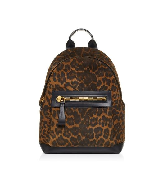 LEOPARD LARGE BUCKLEY BACKPACK