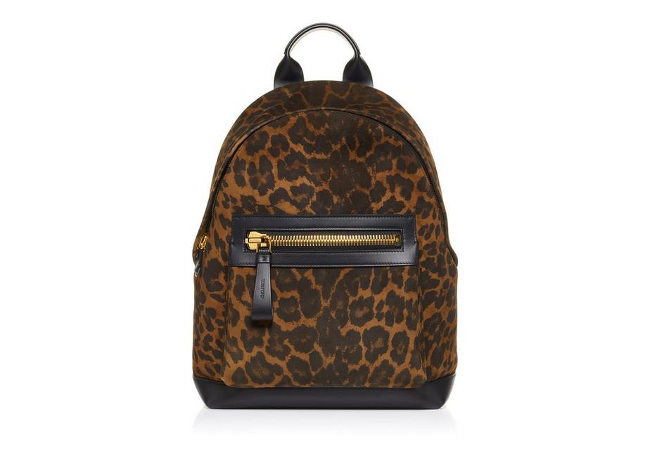 LEOPARD LARGE BUCKLEY BACKPACK A fullsize