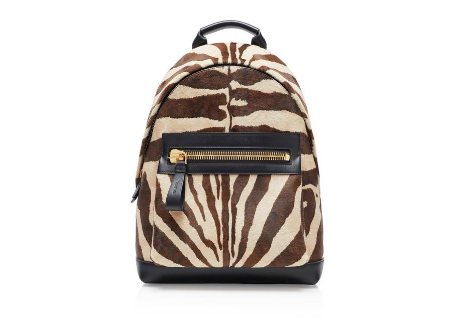 ZEBRA LARGE BUCKLEY BACKPACK A fullsize