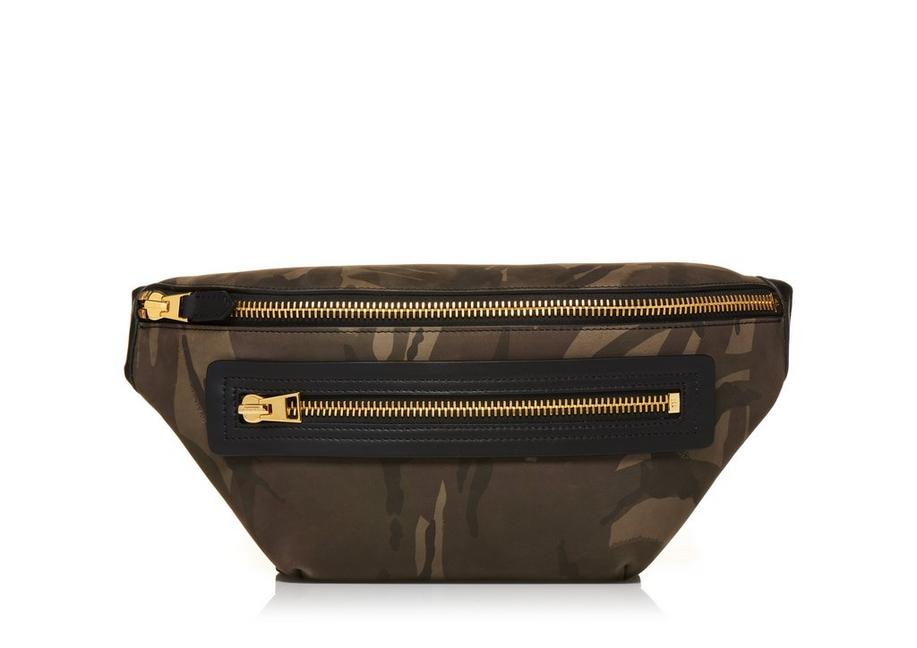 MEDIUM CAMOUFLAGE BUCKLEY BELT BAG A fullsize