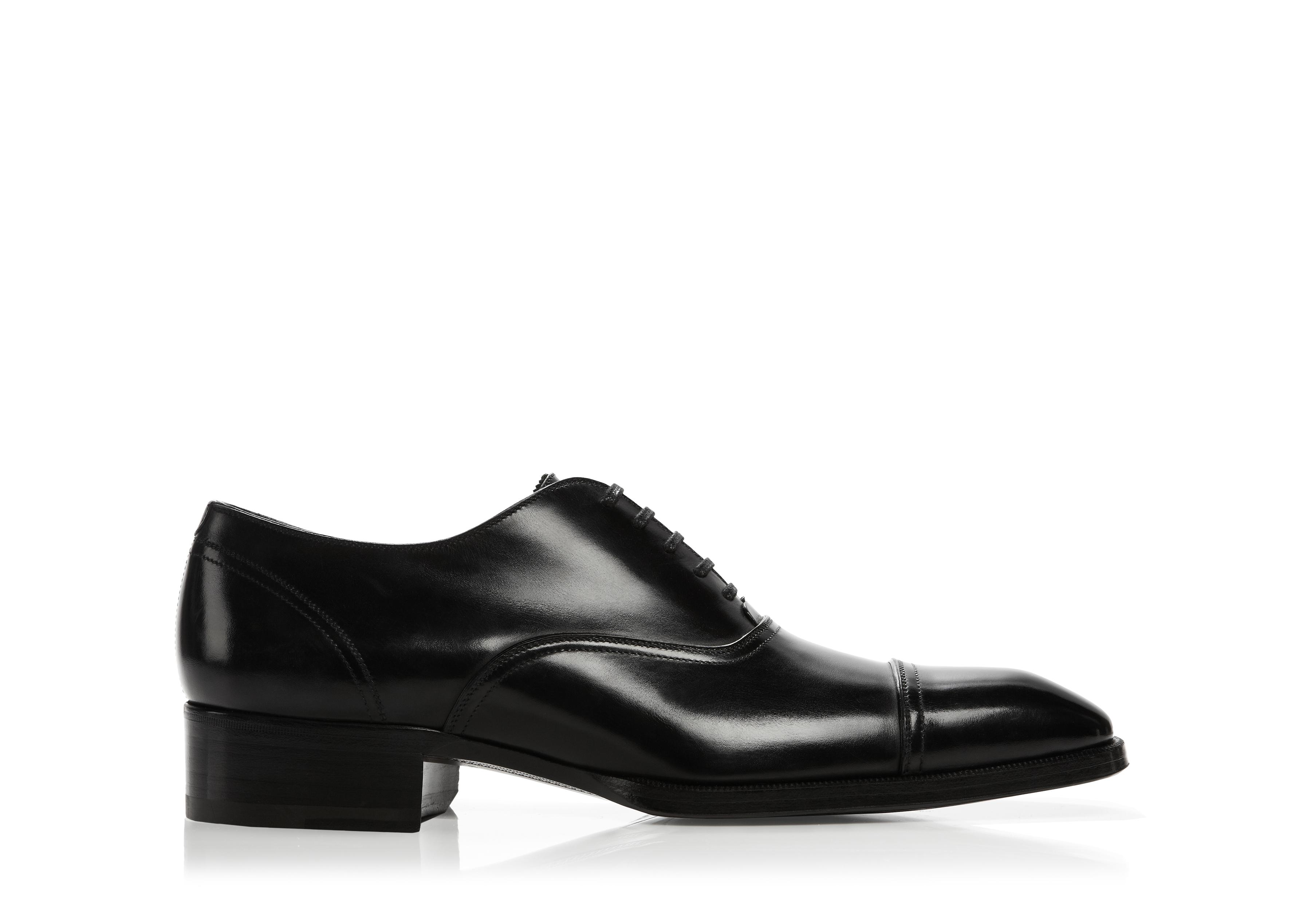 GIANNI LACE UP CAP TOE A thumbnail