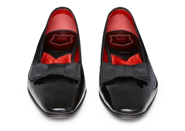 Gianni Patent Leather Low-Vamp Evening Pump C fullsize