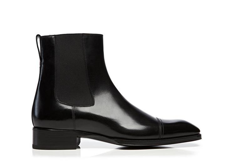 Gianni Leather Cap Toe Chelsea Boot A fullsize
