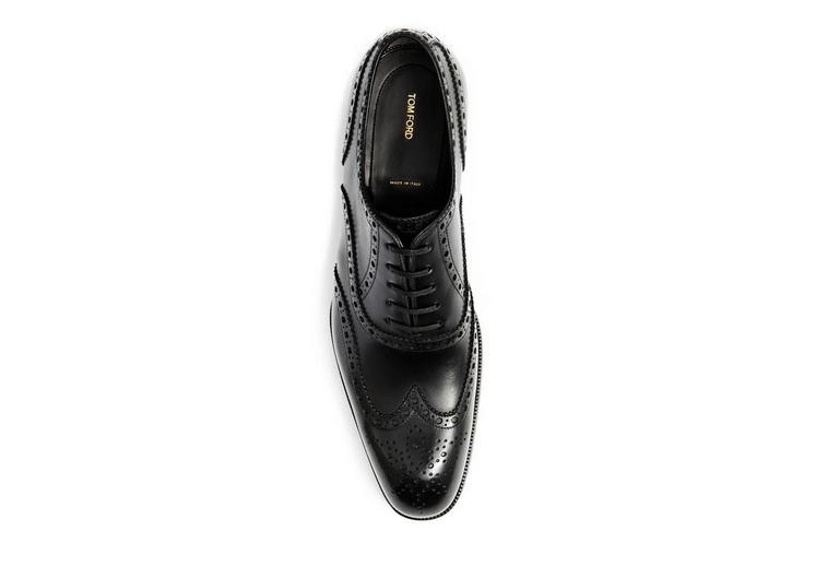 Edward Leather French Brogue Wingtip Lace-Up B fullsize