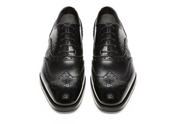 Edward Leather French Brogue Wingtip Lace-Up C fullsize