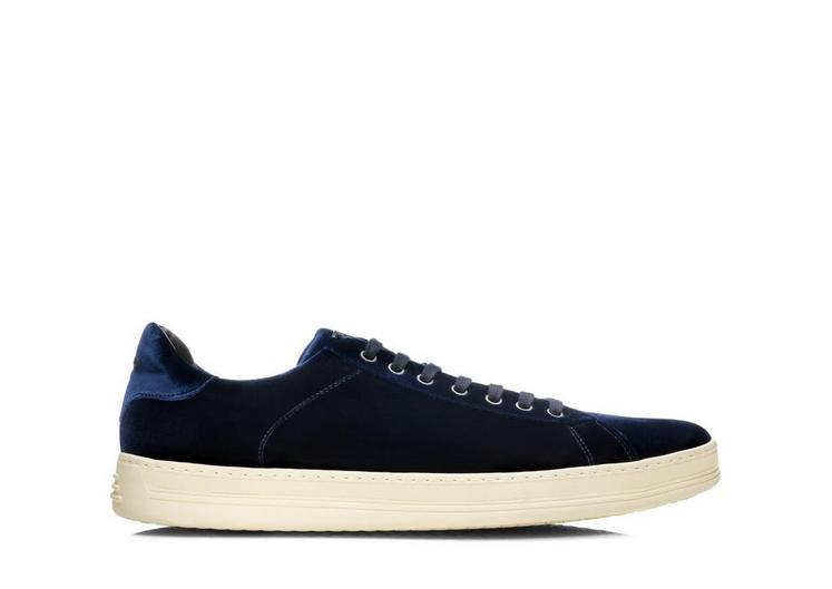 Russel Velvet Low Top Sneaker A fullsize
