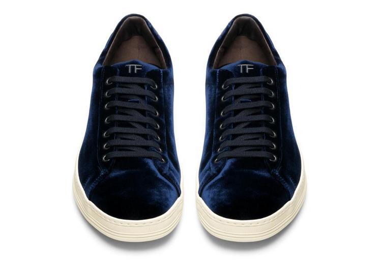 Russel Velvet Low Top Sneaker B fullsize