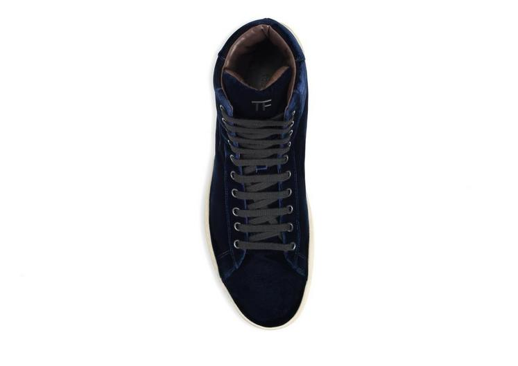 Russel Velvet High Top Sneaker C fullsize