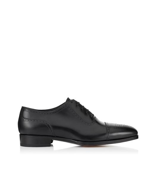 AUSTIN LACE UP CAP TOE BROGUE