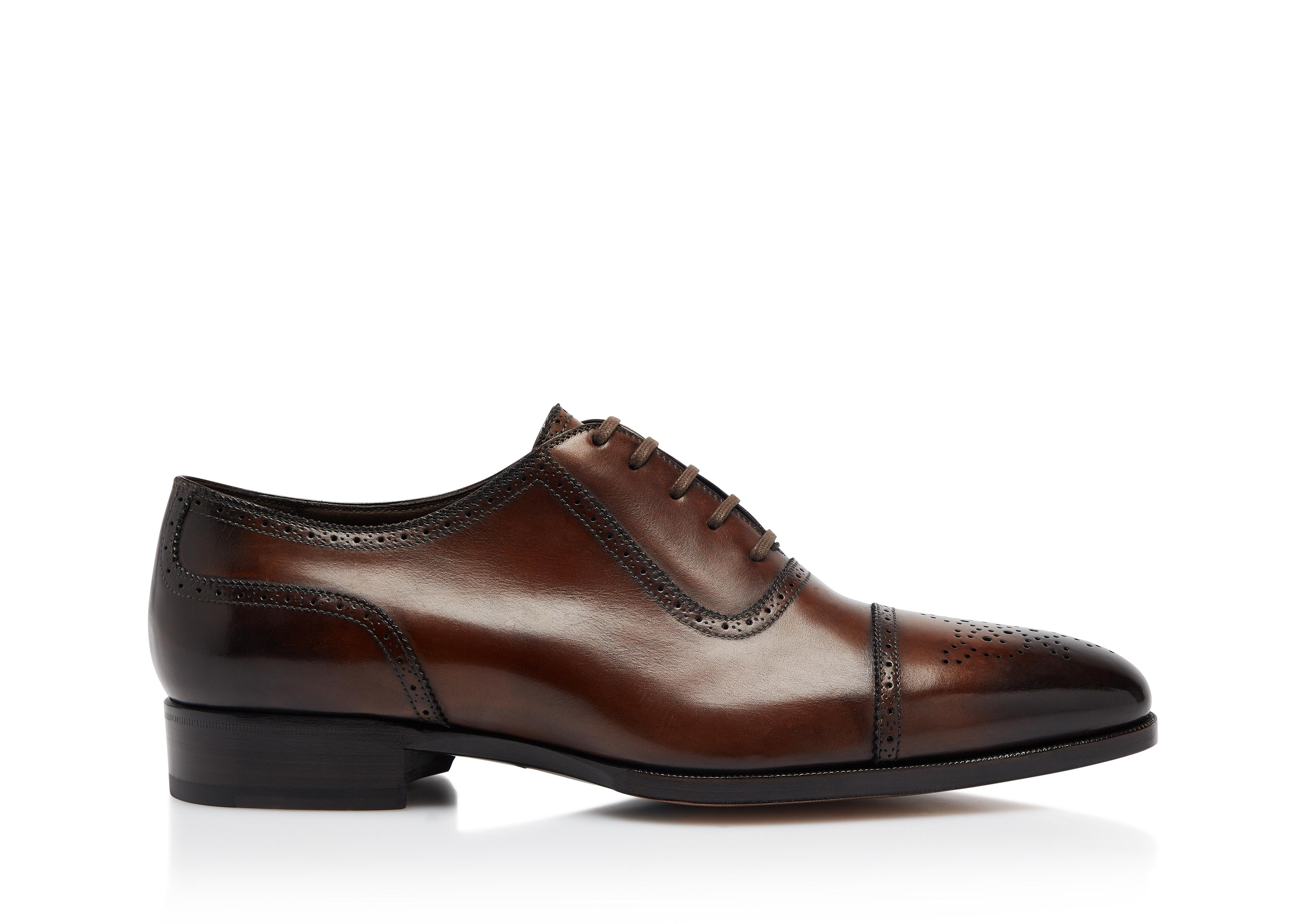 AUSTIN LACE UP CAP TOE BROGUE A thumbnail