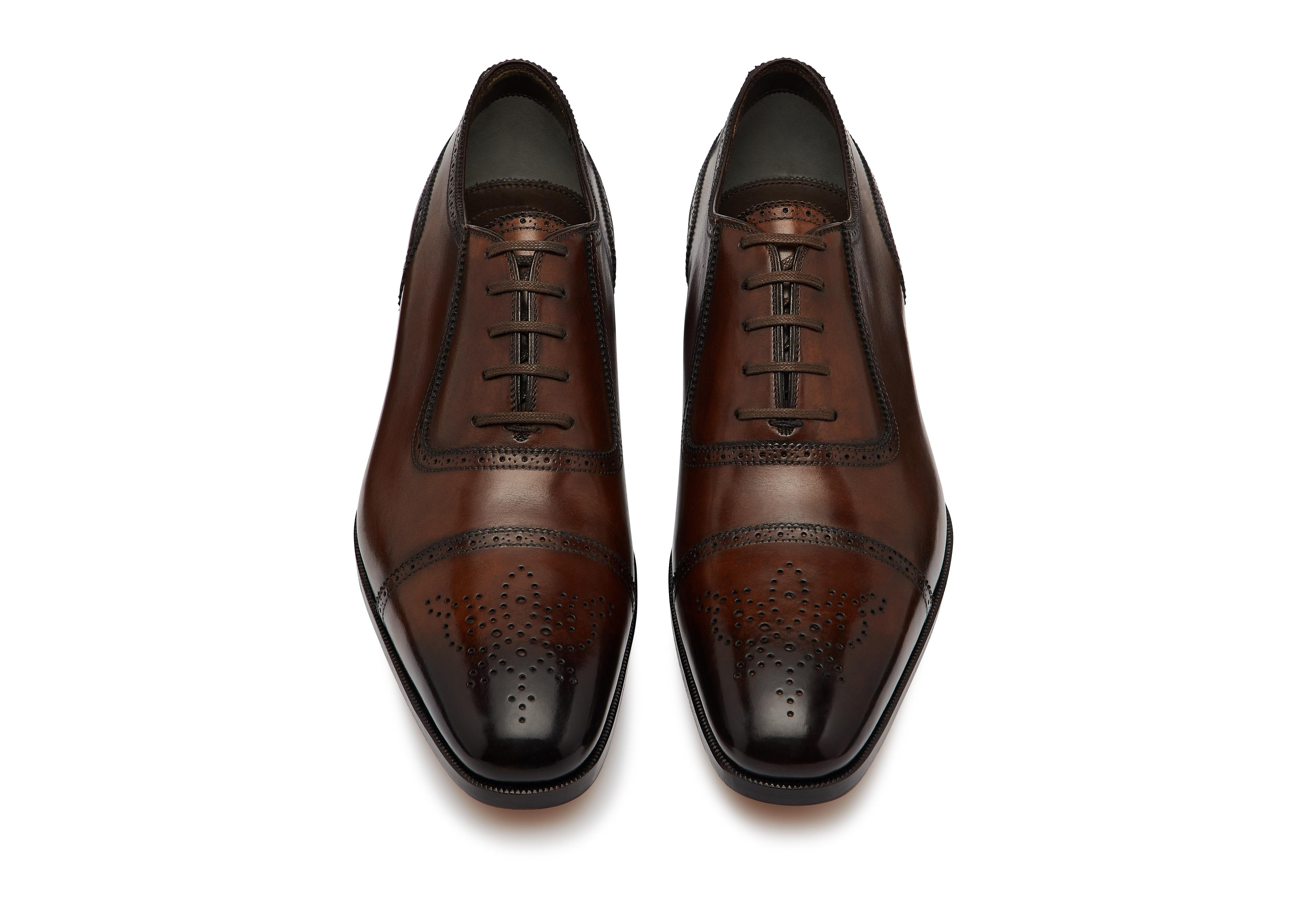 AUSTIN LACE UP CAP TOE BROGUE C thumbnail