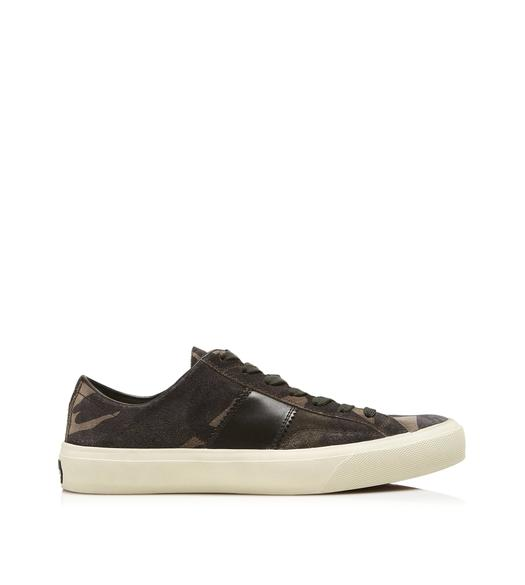 CAMOUFLAGE CAMBRIDGE LACE UP SNEAKERS