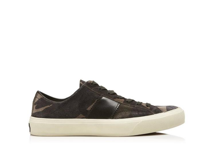 CAMOUFLAGE CAMBRIDGE LACE UP SNEAKERS A fullsize