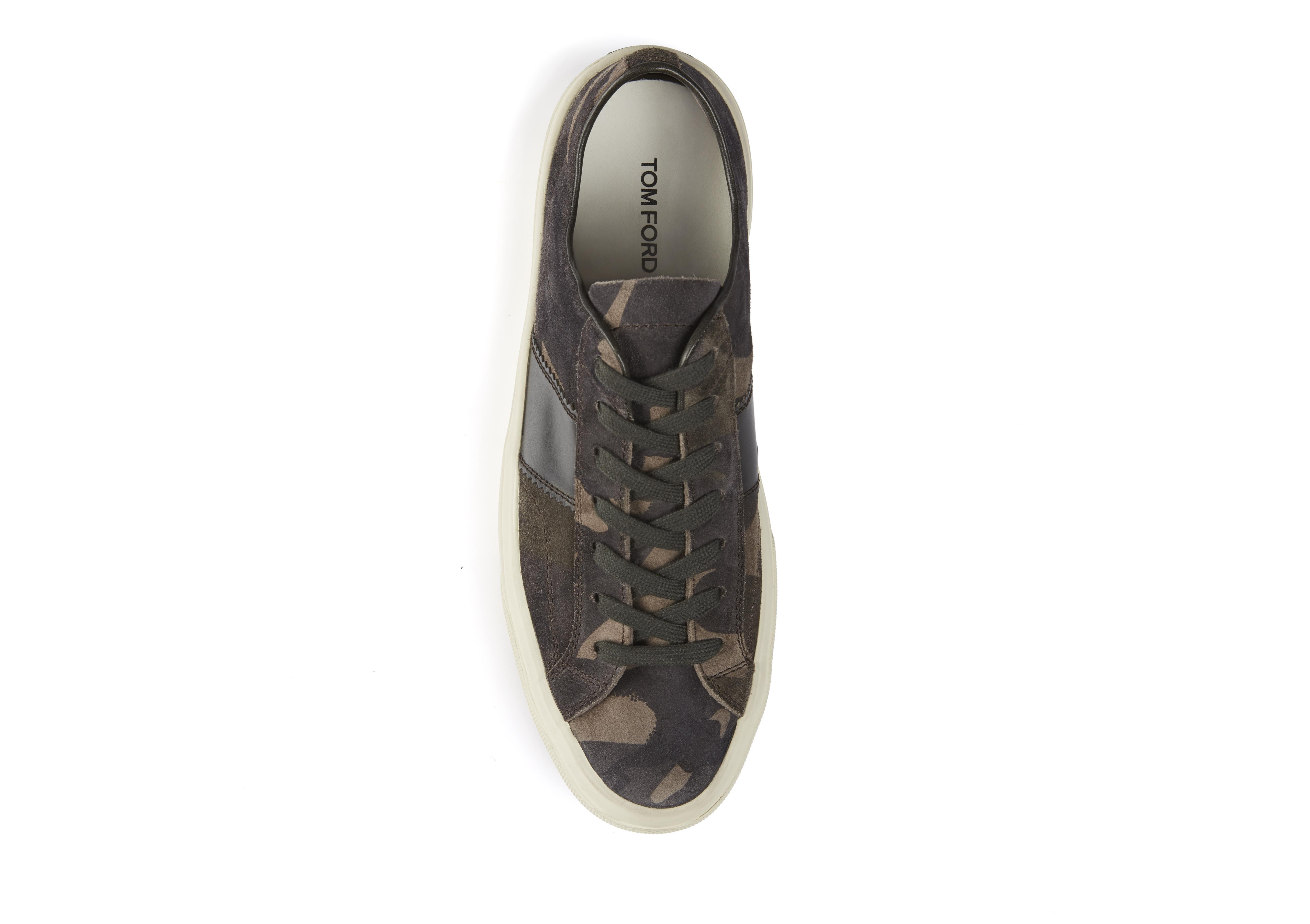 CAMOUFLAGE CAMBRIDGE LACE UP SNEAKERS B thumbnail