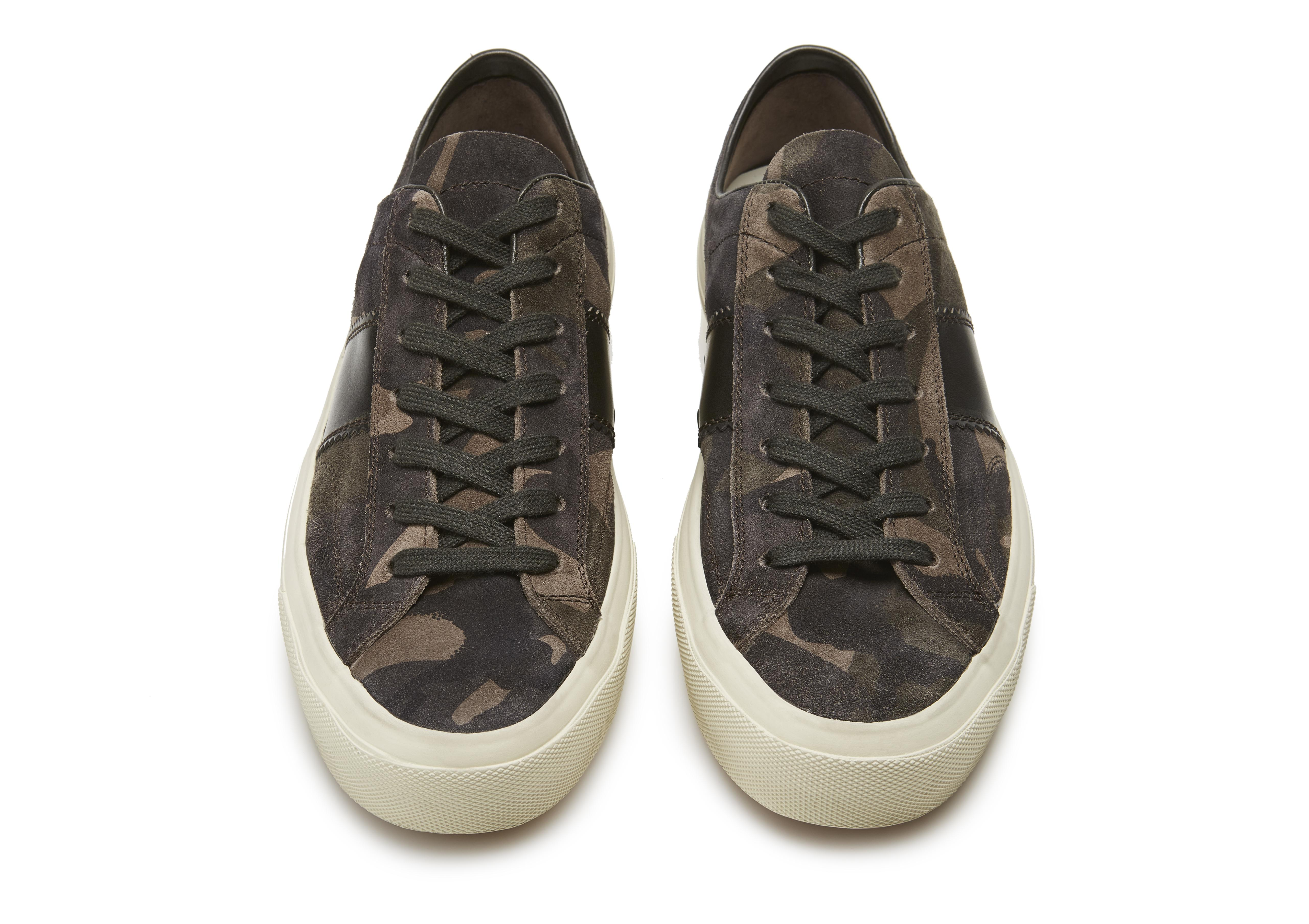 CAMOUFLAGE CAMBRIDGE LACE UP SNEAKERS C thumbnail