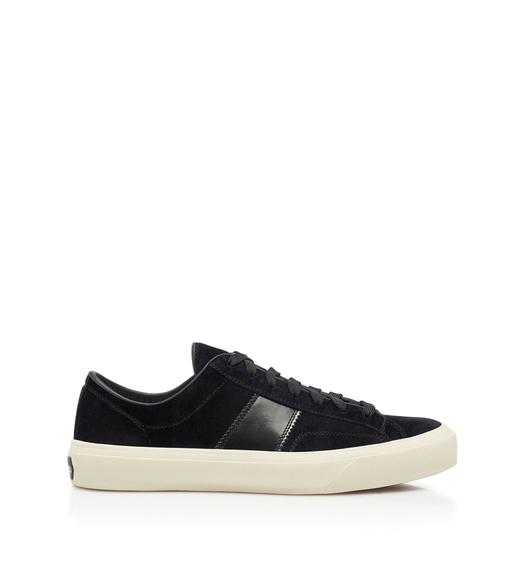 VELVET CAMBRIDGE SNEAKERS