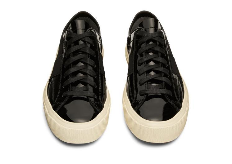 PATENT LEATHER CAMBRIDGE LACE UP SNEAKERS B fullsize