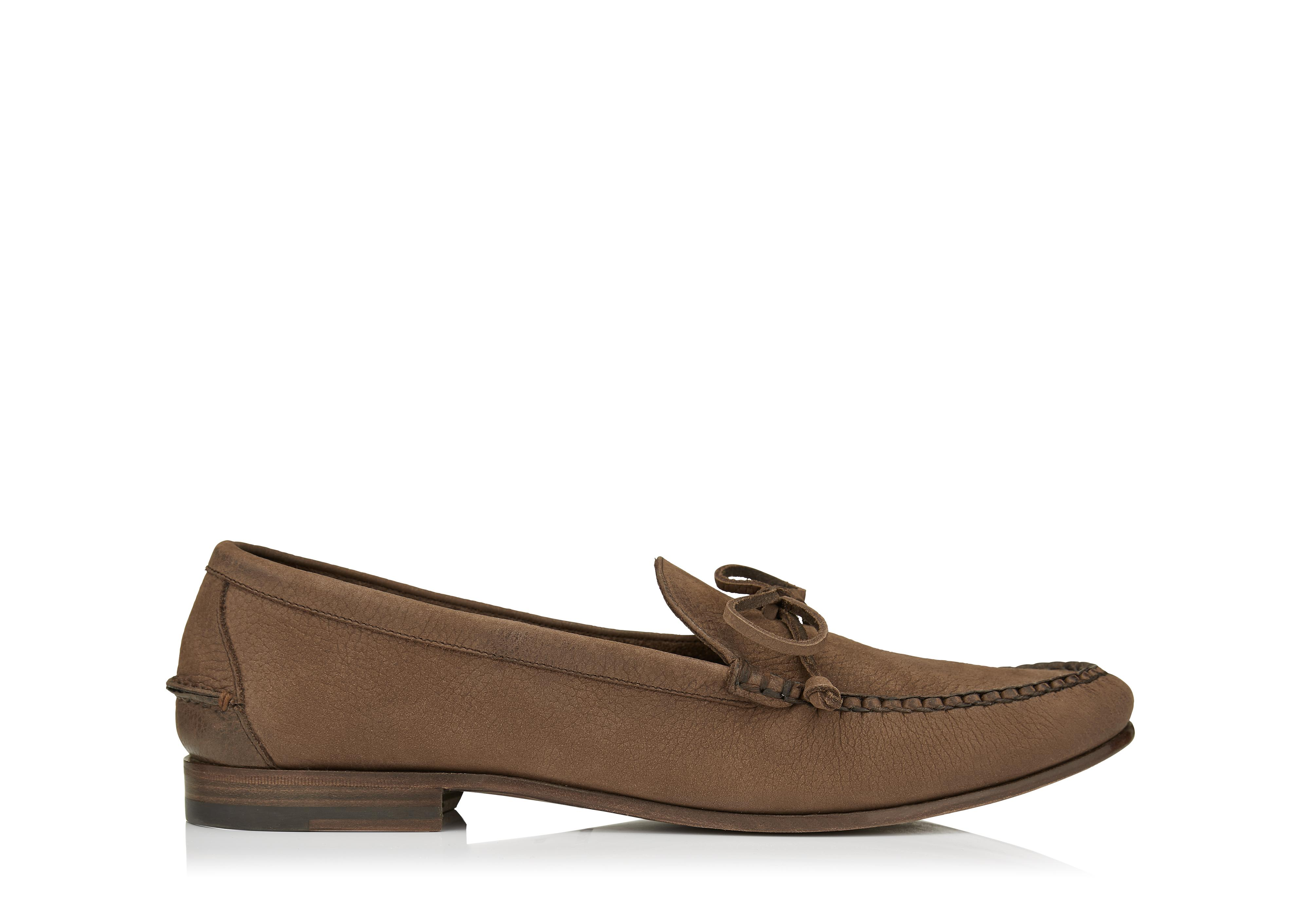 FINCH NUBUCK LOAFER A thumbnail