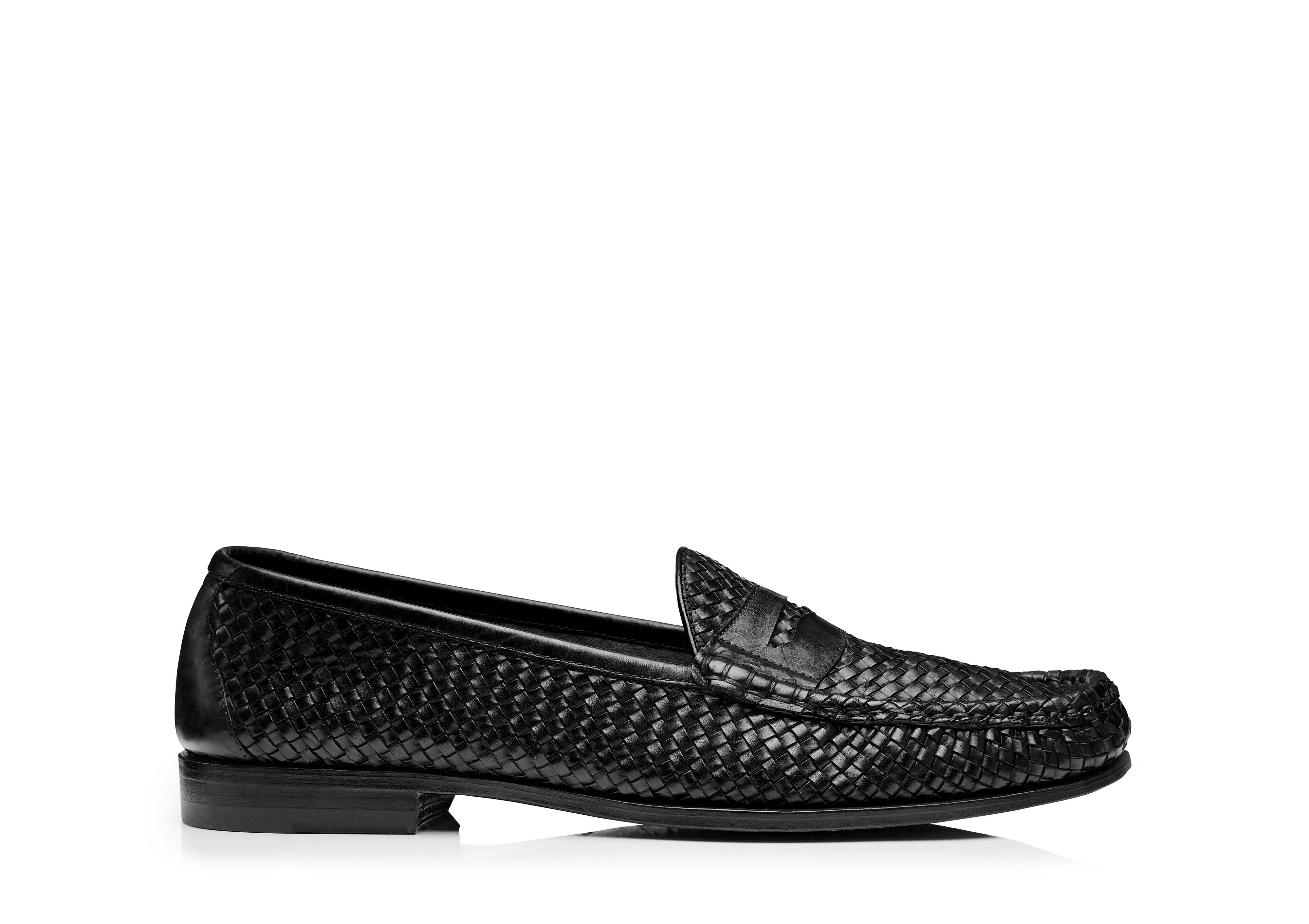 NEVILLE WOVEN LOAFER A thumbnail