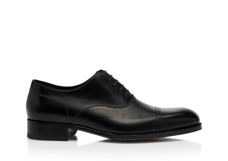 EDGAR LEATHER HALF BROGUE A fullsize