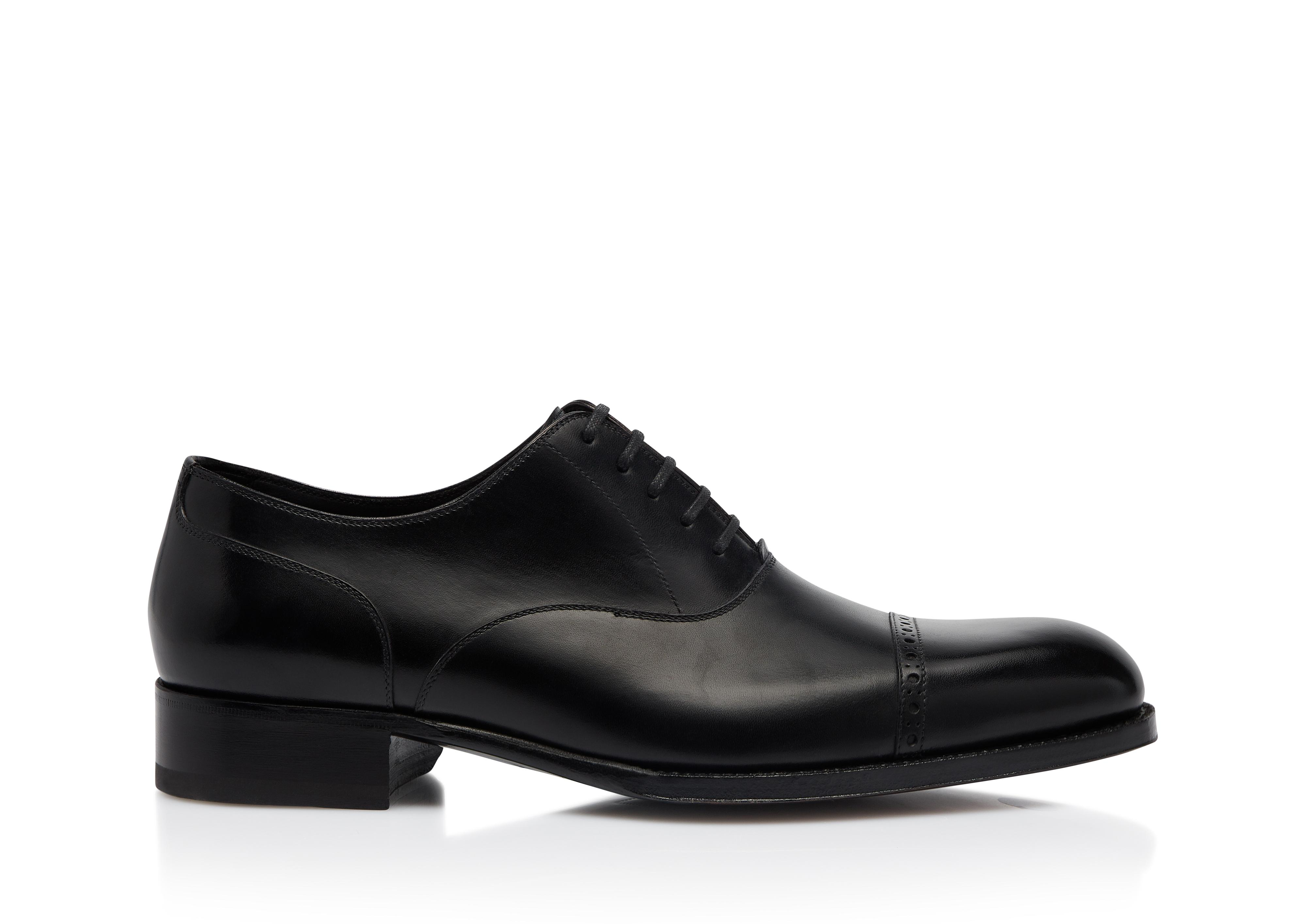 EDGAR LEATHER HALF BROGUE A thumbnail