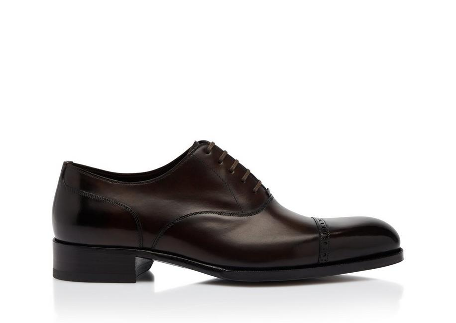 EDGAR LEATHER HALF BROGUES A fullsize