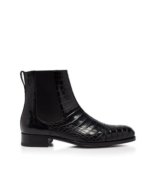 ALLIGATOR EDGAR CHELSEA BOOTS