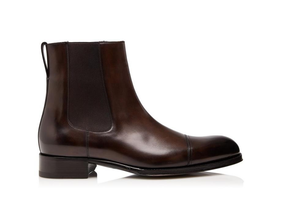 EDGAR LEATHER CHELSEA BOOT A fullsize
